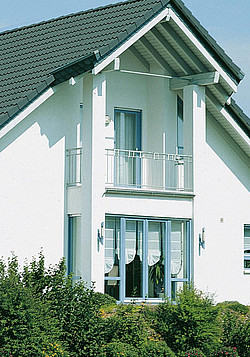 Silikonharzfarbe Die Beste Fassadenfarbe Baustoffhandel Nrw