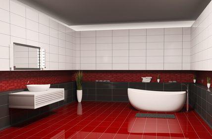Badezimmer abdichten - Baustoffhandel NRW