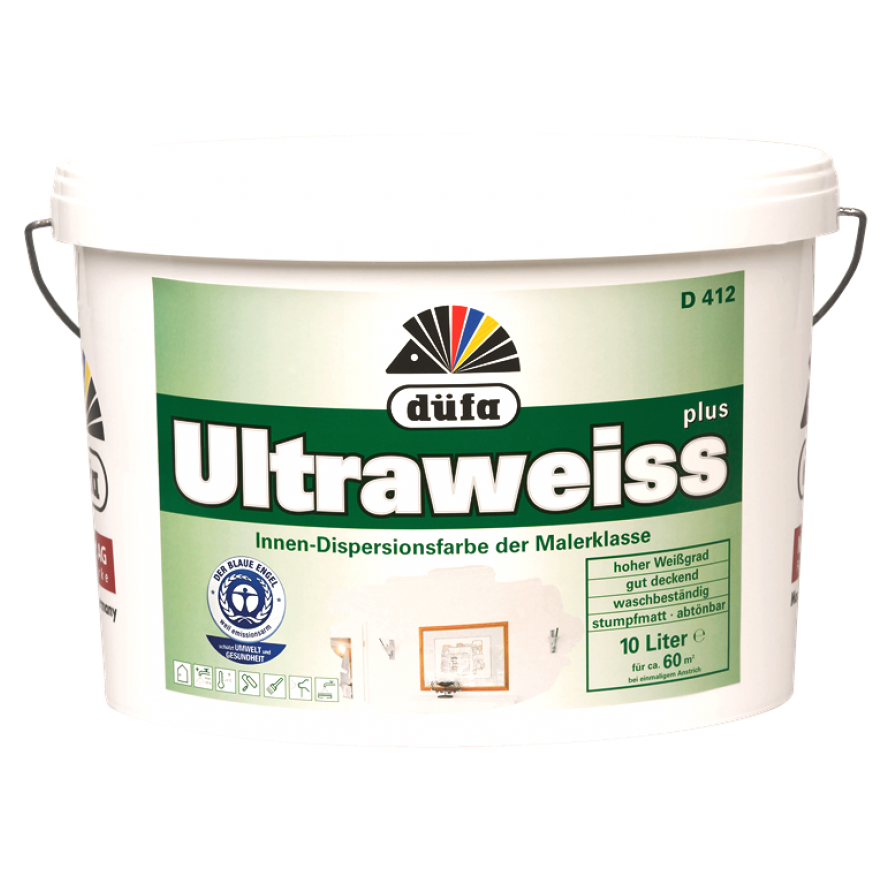 Düfa D412 Ultraweiss Maler Dispersionsfarbe