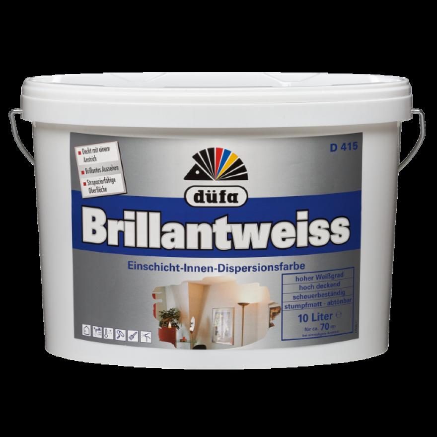 Düfa D415 Brillantweiss Innenfarbe Für Wand Und Decke