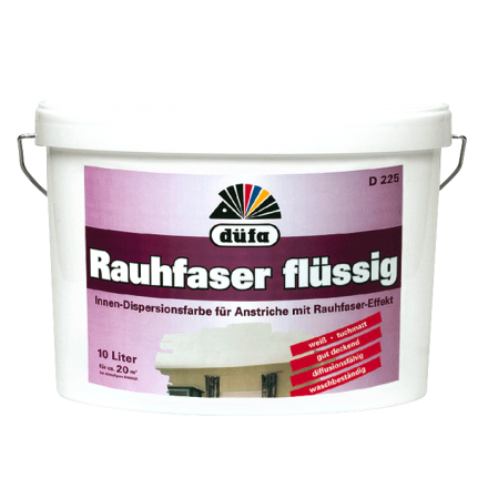 Bevorzugt Düfa flüssige Rauhfaser bei Baustoffhandel NRW TW29