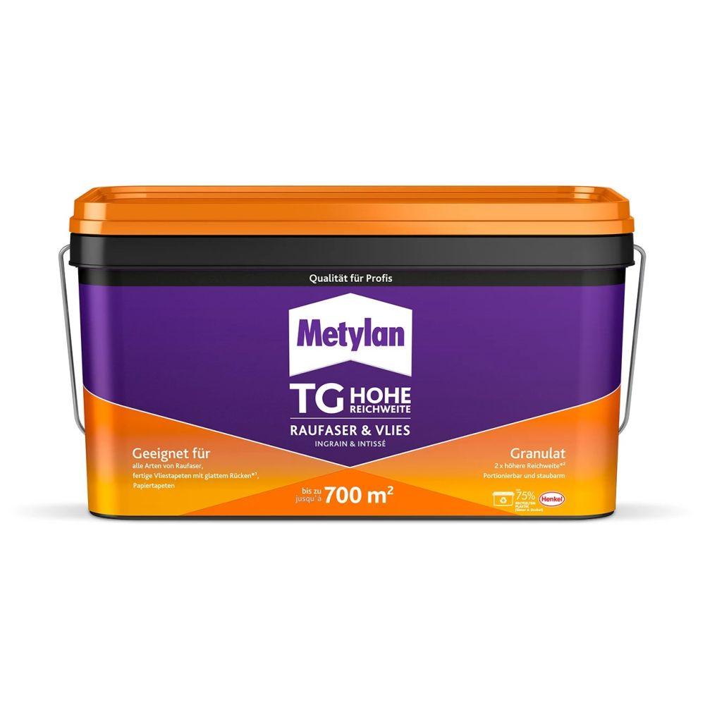Vinyltapeten Richtig Tapezieren : Metylan TG Power Granulat ist ein Kleister zum sicheren und